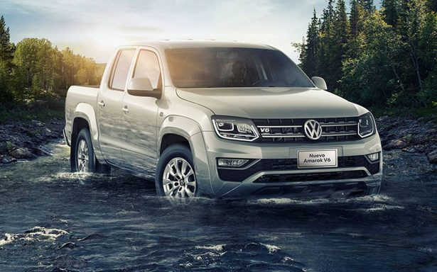Volkswagen Amarok 2018… Listo para el trabajo rudo