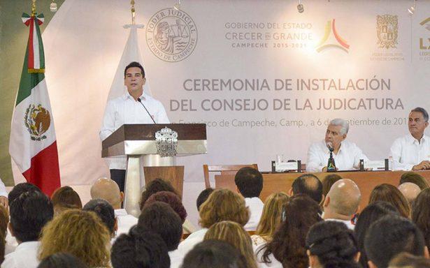 Apuesta Campeche por un gobierno firme