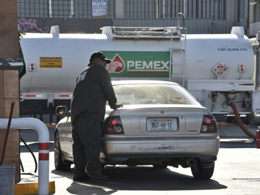 Sube la gasolina en Mexicali