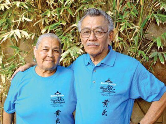 La familia Wong Rodríguez tuvo su convivencia anual.