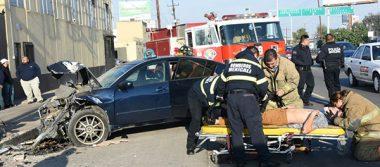 Joven sufre terrible choque casi muere en Mexicali