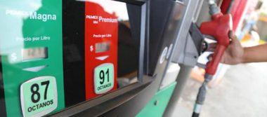Precios de gasolinas y diesel para BC y SLRC