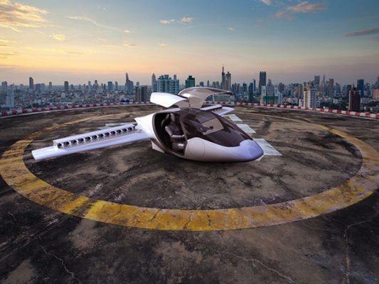 El primer vuelo del increíble taxi volador eléctrico