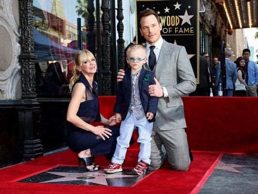 Chris Pratt ya tiene su estrella en Hollywood