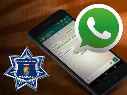 Industriales se contactan por WhatsApp con policía por inseguridad