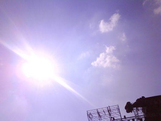 Temperatura arriba de los 30ºC este viernes
