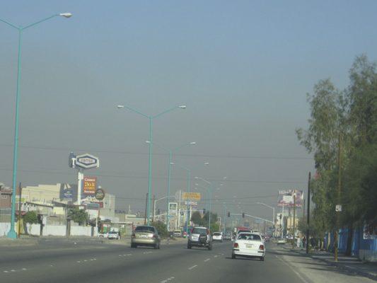 Se ubicó en dañina calidad de aire en Mexicali