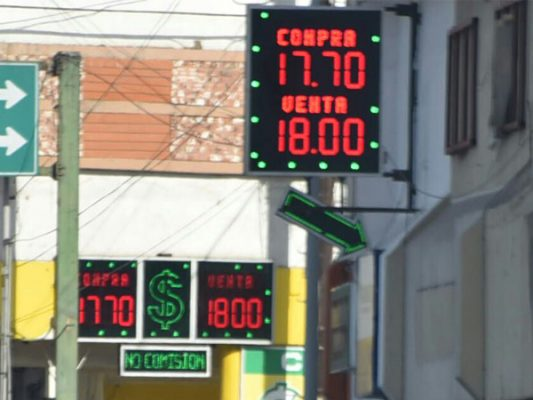 DÓLAR: Tipo de cambio en Mexicali