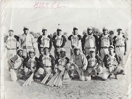 """Gilberto """"El Zurdo"""" Olivas, beisbolista de antaño"""