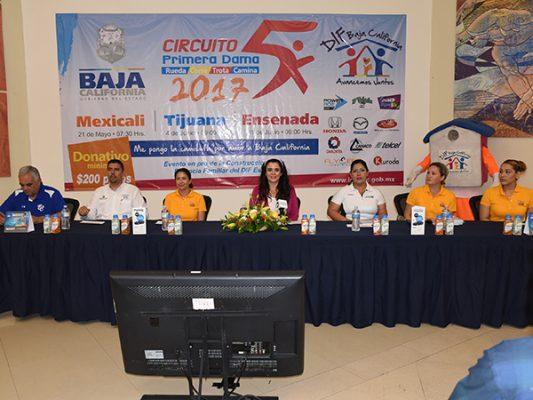 En Mexicali iniciará el  Circuito Primera Dama
