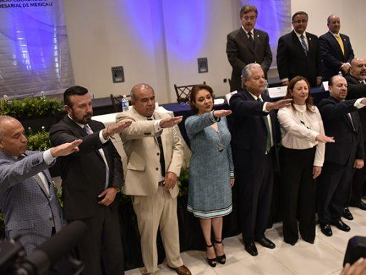 Federico Díaz Gallego rindió protesta como nuevo presidente del CCE