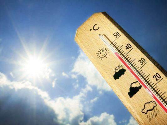 Calor podría llegar a los 45°