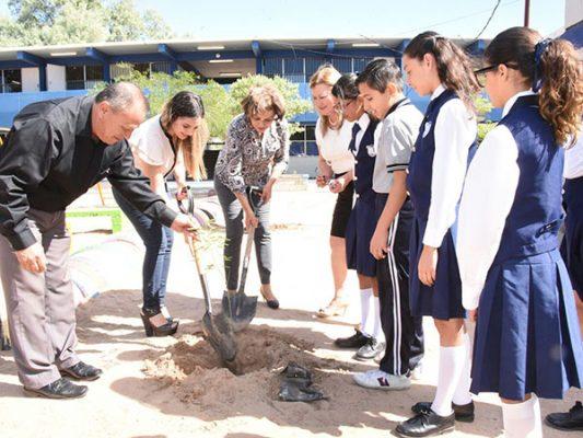 Reforestarán más de 100 escuelas