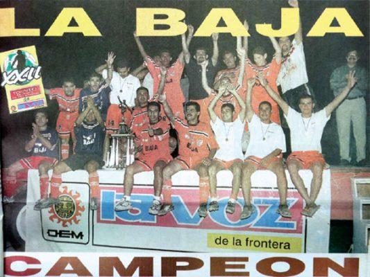 """Después de 17 años, la """"Baja"""" se proclamaba de nuevo campeón en la categoría Mayor"""