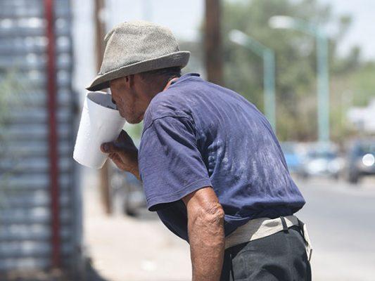 Alerta por calor extremo: 50º C