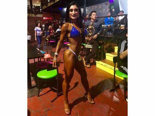 Priscila Arredondo campeona Estatal en Miss Bikini