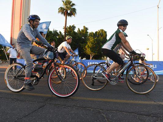 Invitan a un Circuito en Bici por los murales de Rogeiro