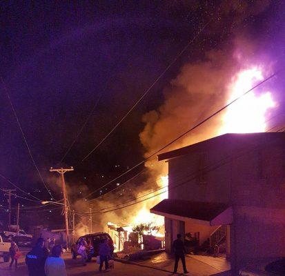 Incendios dejan 4 muertes, entre ellos 2 menores de edad