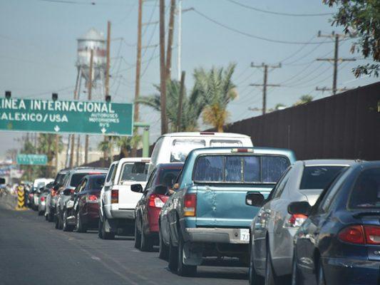 GARITAS: Si vas a EU checa los tiempos de espera en Mexicali