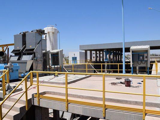 En funcionamiento Planta de Bombeo de Aguas Residuales