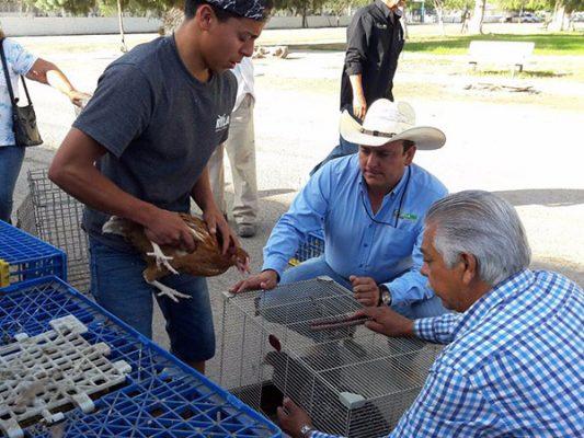 Entregan apoyos a pequeños productores