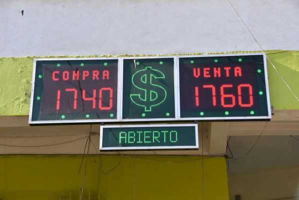 DÓLAR: Consulta el tipo de cambio