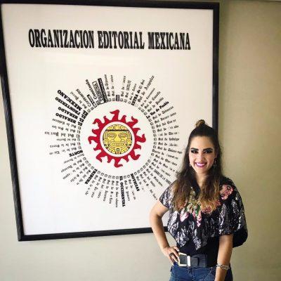 Janett Michel de visita en Mexicali