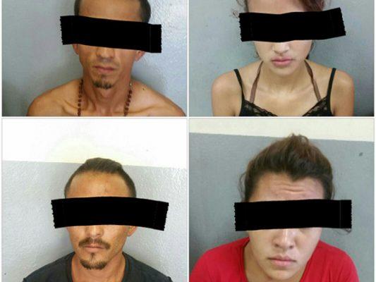 Detiene DSPM a cuatro por robo con violencia a comercio