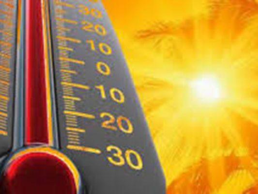 Emiten alerta por onda de calor atípica; exhortan a cuidarse