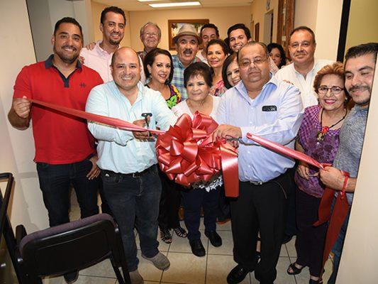 Felicitan por inauguración de oficinas