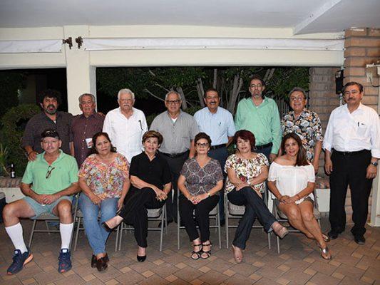 Reunión de maestros jubilados