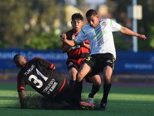 Deportivo Robledo gana fraternal duelo