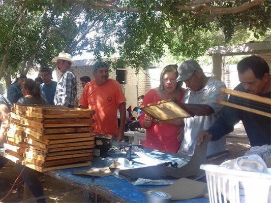 Aumentan potencial con taller de apicultura