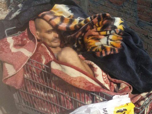 Abandonan cadáver en carrito de mandado