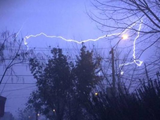 Se prevén tormentas eléctricas esta semana