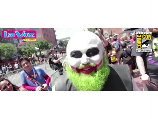 La Voz de la Frontera en SD Comic-Con