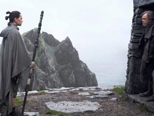 Revelan nuevas imágenes de Rey y Luke en Star Wars: The Last Jedi