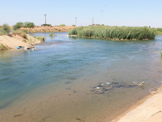 Afecta a parcelas agua contaminada