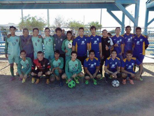 Jugarán futbol 7 en la unidad Lázaro Cárdenas