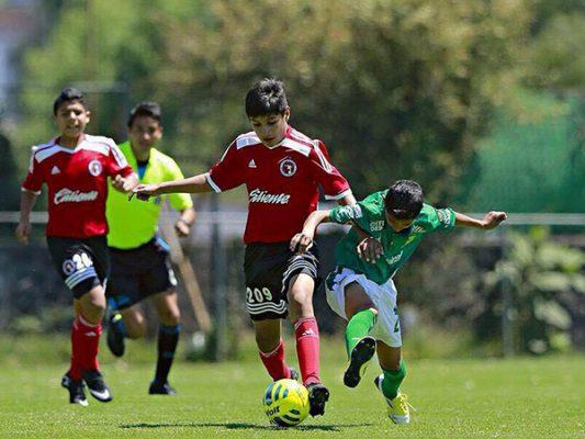 Rafa López en plan goleador con  Xolos Sub-15