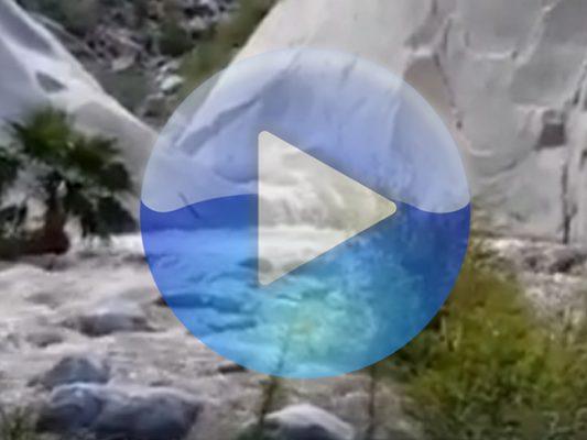 Intensa corriente de agua sorprende a montañistas en Cañón del Diablo