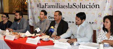Consejo Mexicano de la Familia campaña #LaFamiliaEsLaSolución