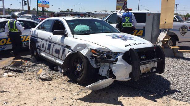 Se utilizó aseguranza para reparar patrulla chocada