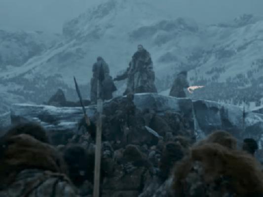 """Penúltimo capítulo de Game of Thrones """"Más allá del muro"""""""