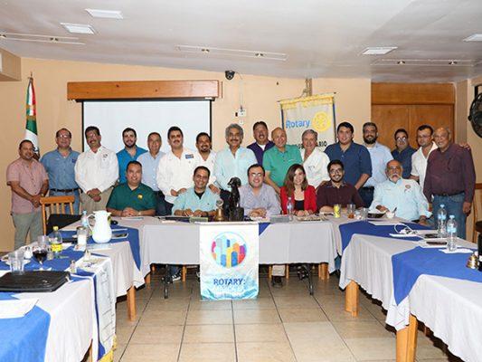 Reunión de Club Rotario