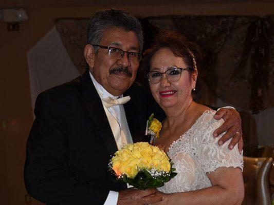 Aniversario de bodas de Francisco y Rosario