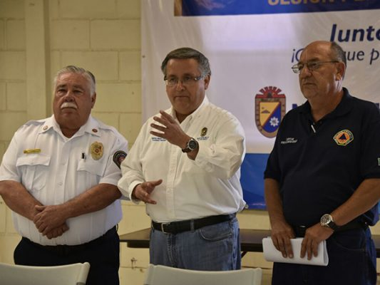 13 bomberos de Mexicali viajarán a CDMX
