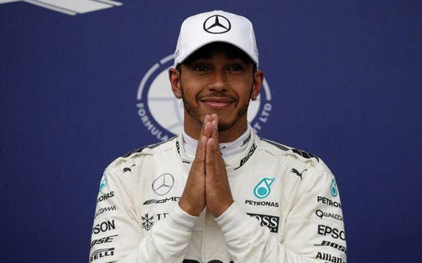 Hamilton logra récord histórico de poles en Italia