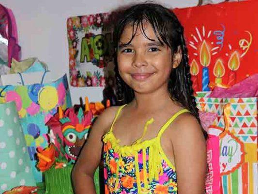 Albercada para Dahayanna por cumplir 8 años