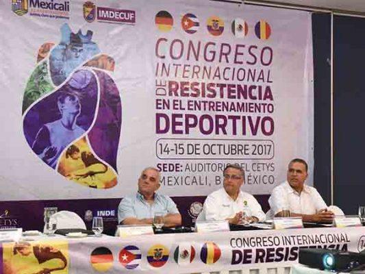 Anuncian Congreso Internacional de Resistencia en el Entrenamiento